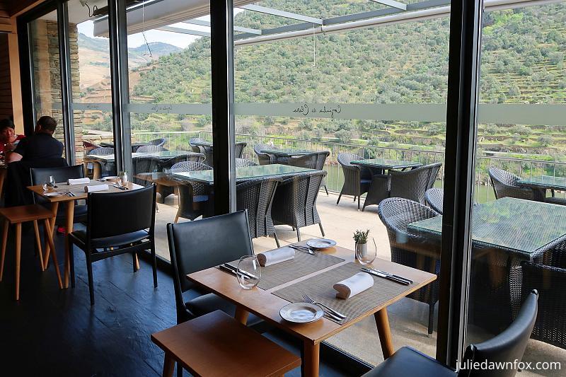 Cozinha da Clara restaurant, Quinta de la Rosa, Pinhão, Douro Valley Portugal