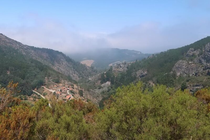 Pena schist village near Góis