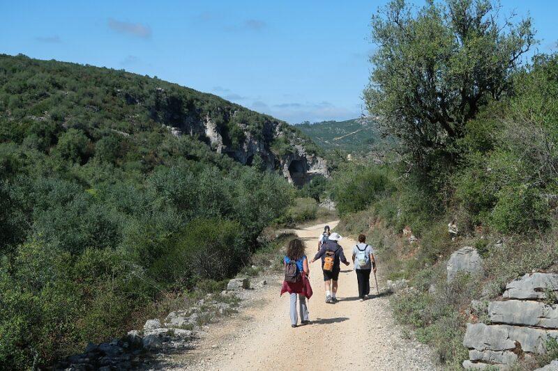 Hiking in Portugal. Buracas do Casmilo