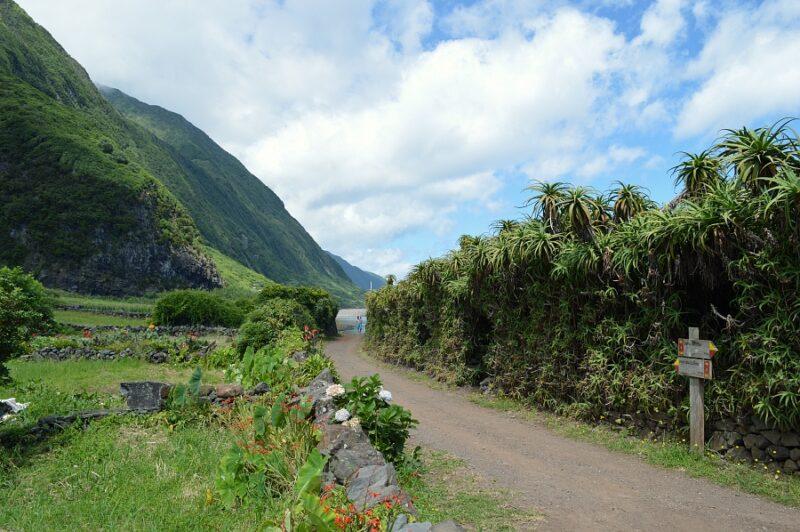 Walking-trail-at-Caldeira-de-Santo-Cristo São Jorge, Azores