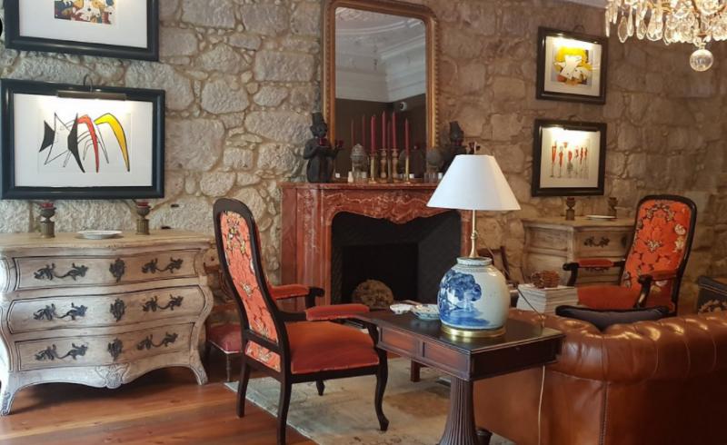 Grand furniture in M Maison Particuliere, boutique hotel in Porto.