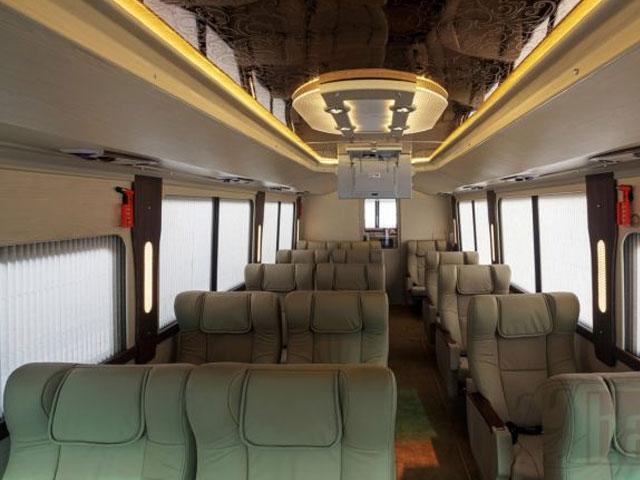 interior bus weha one