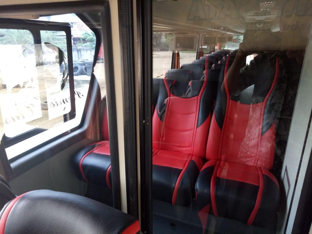 bus pariwisata HDD william