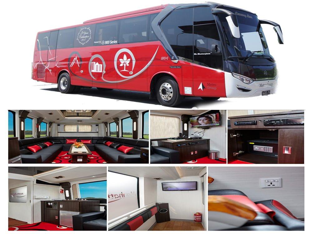 Luxury Bus Manhattan