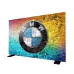 BMW Corporate Mosaic Photo Booth Wall