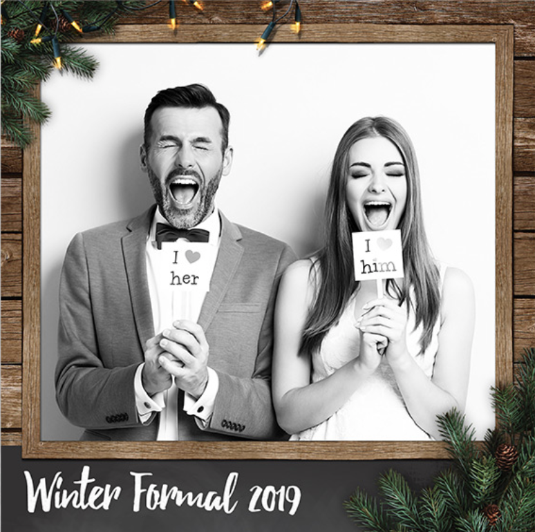 Christmas Photo Booth Print