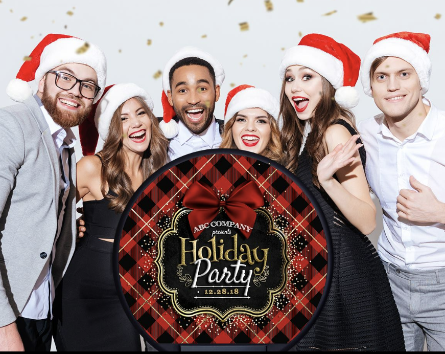 Christmas party photo booth hire