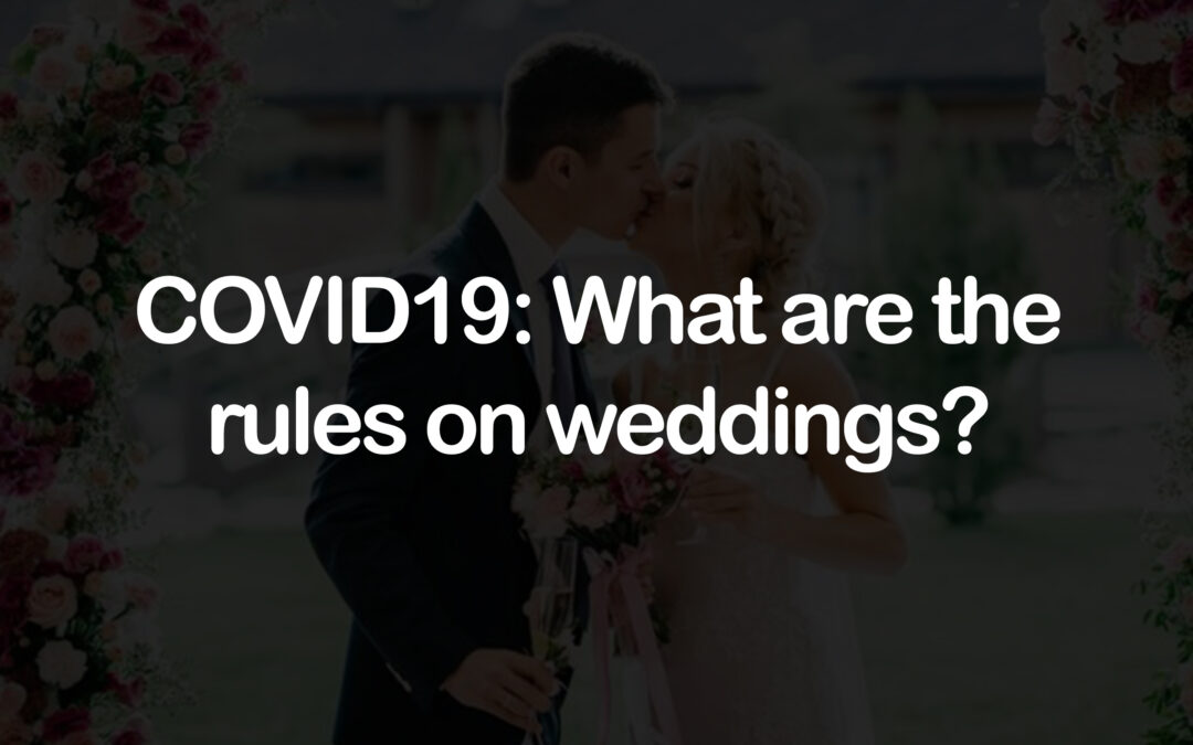 Coronavirus: What are the rules on weddings?