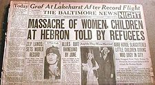 Hebron massacre