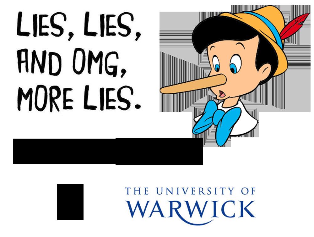 University of Warwick lies