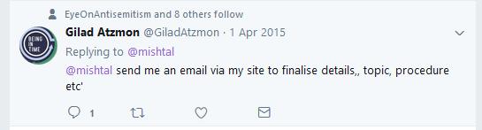 Atzmon details
