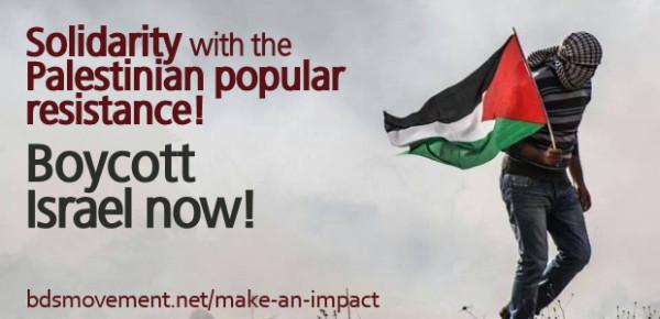 BDS boycott solidarity resistance
