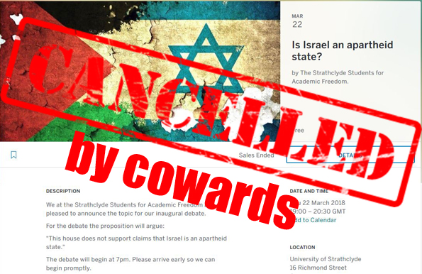Henry Maitles - event cancelled by cowards