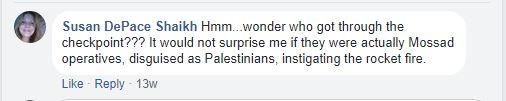 rockets mossad