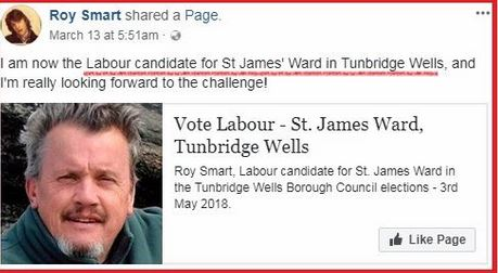 Roy Smart candidate