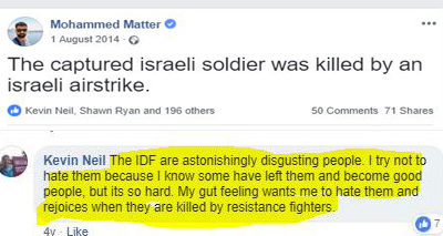 labour party, hoping the Zionists are killed