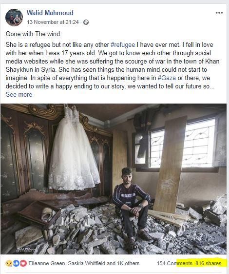 Gaza wedding dress