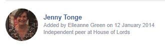 Jenny Tonge
