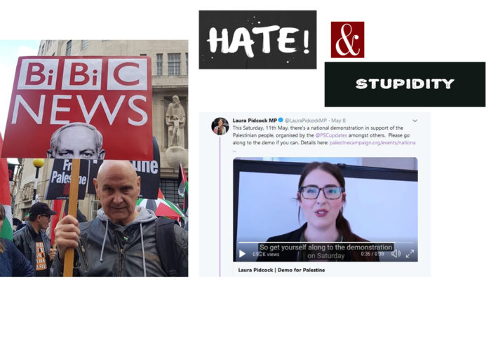 hate and stupidity in London
