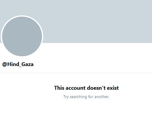 hind khoudary deleted account