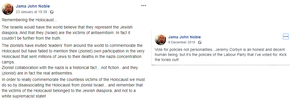 holocaust denial labour