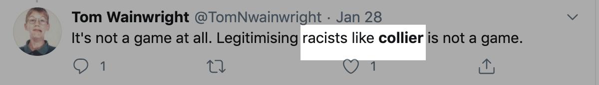 Beinart - Tom Wainwright