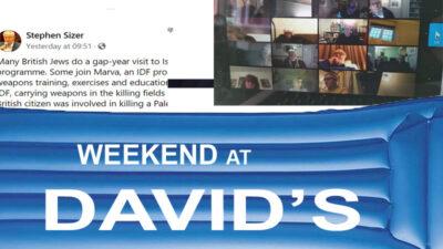 relentless - weekend at David's