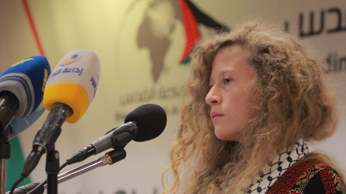 Ahed Tamimi terror groups