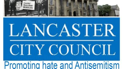 Lancaster Council - only Nazis boycott Jewish goods