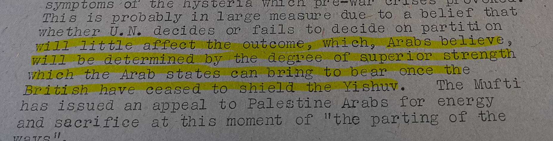 Nakba 1948 myth