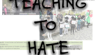 Teaching to hate