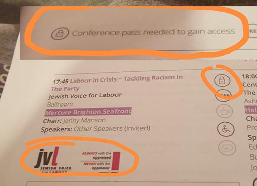 JVL Party conference