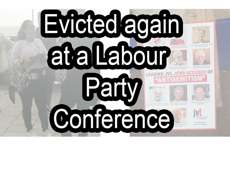 evicted against at conference