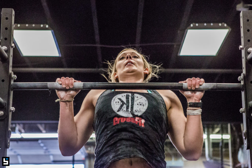 KJ Crossfit- Chest to Bar Pull Ups- Crossfit Open