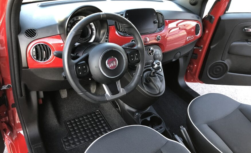 FIAT 500s Rojo Passione