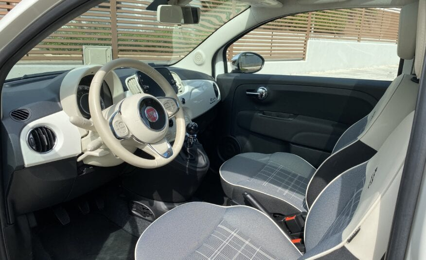 FIAT 500 LOUNGE MIRROR 03/2018  29.000km