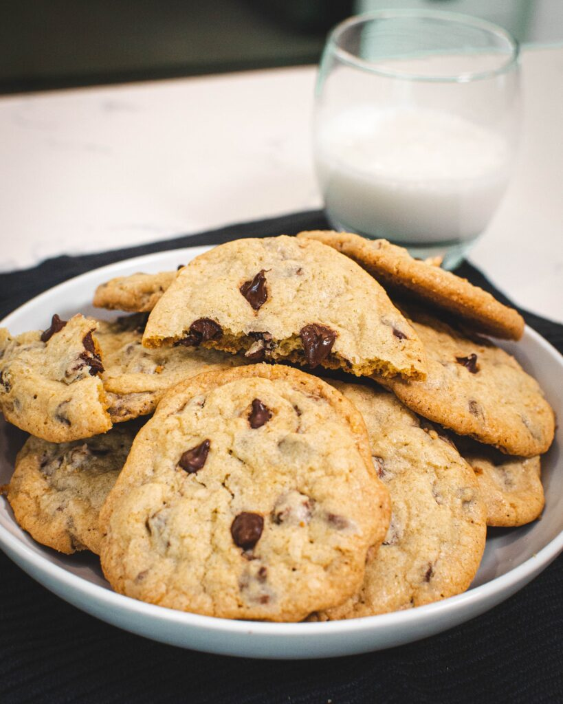 chocolate chip cookies are a delicious classic