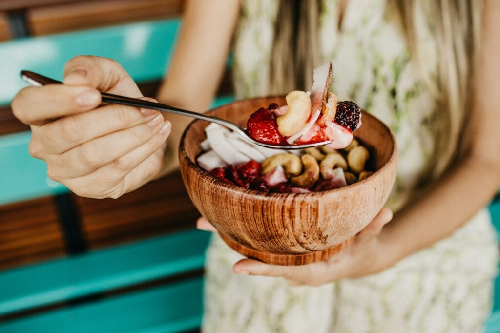berries and nuts are very healthy