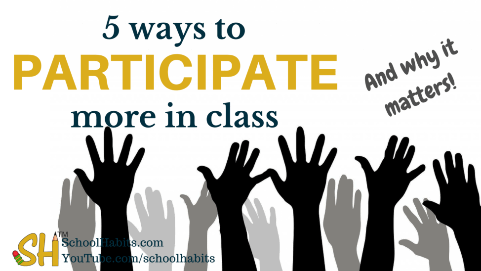 5 ways to participate more in class