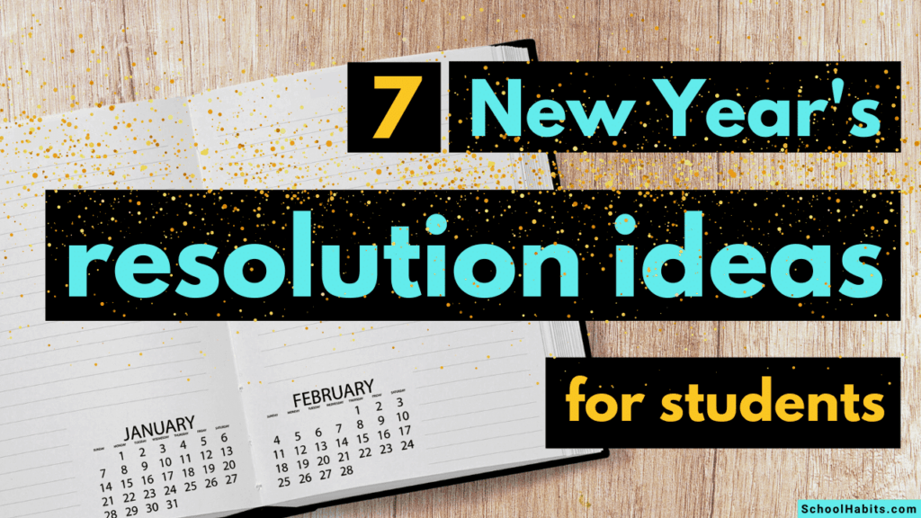 new year's resolution ideas for students