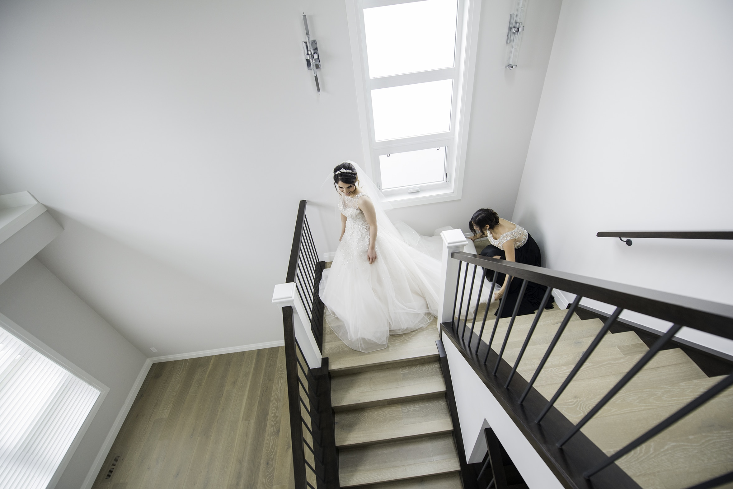 bride getting ready calgary