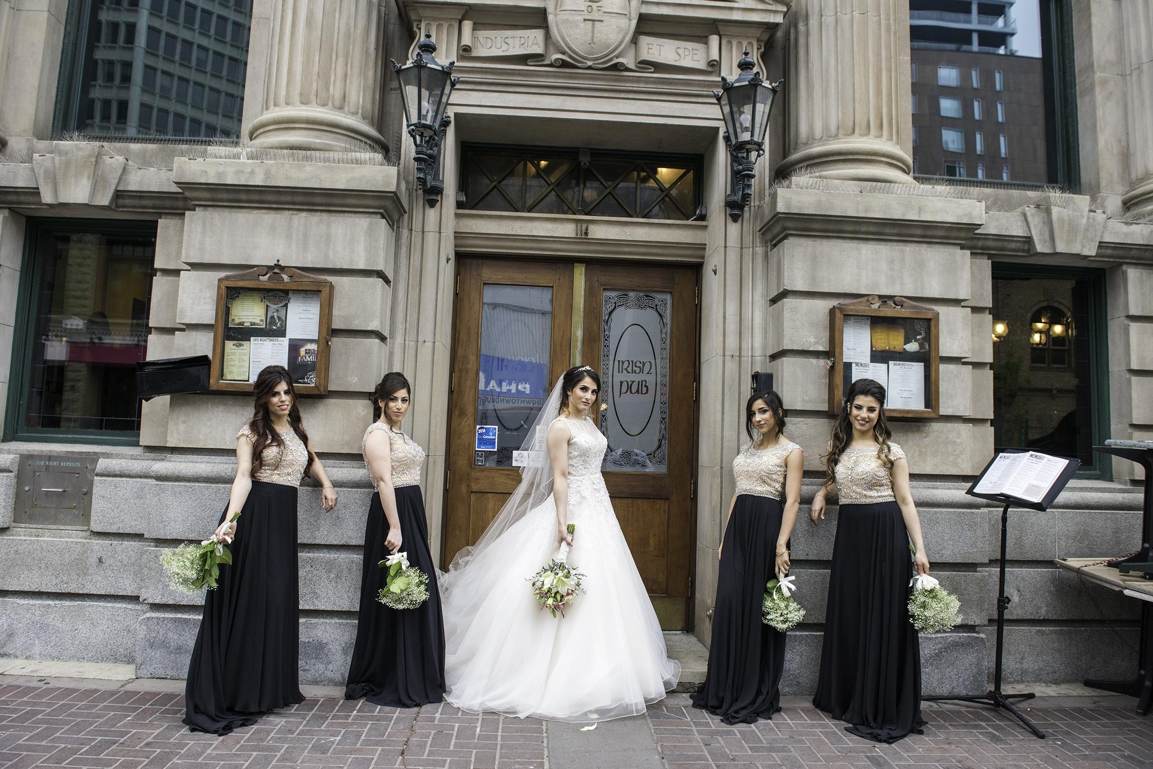 bridesmaid portrait stephen avenue
