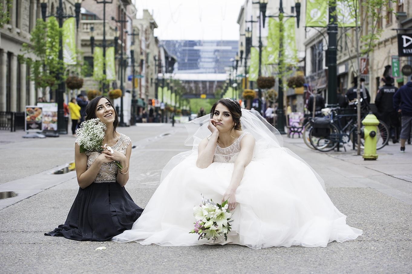 bridal party stephen avenue
