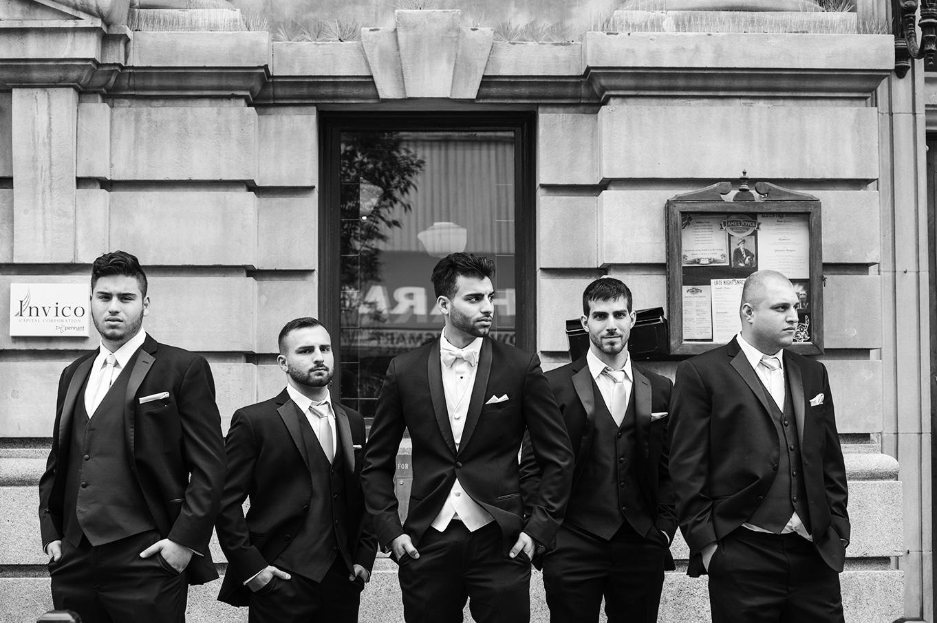 groomsmen calgary