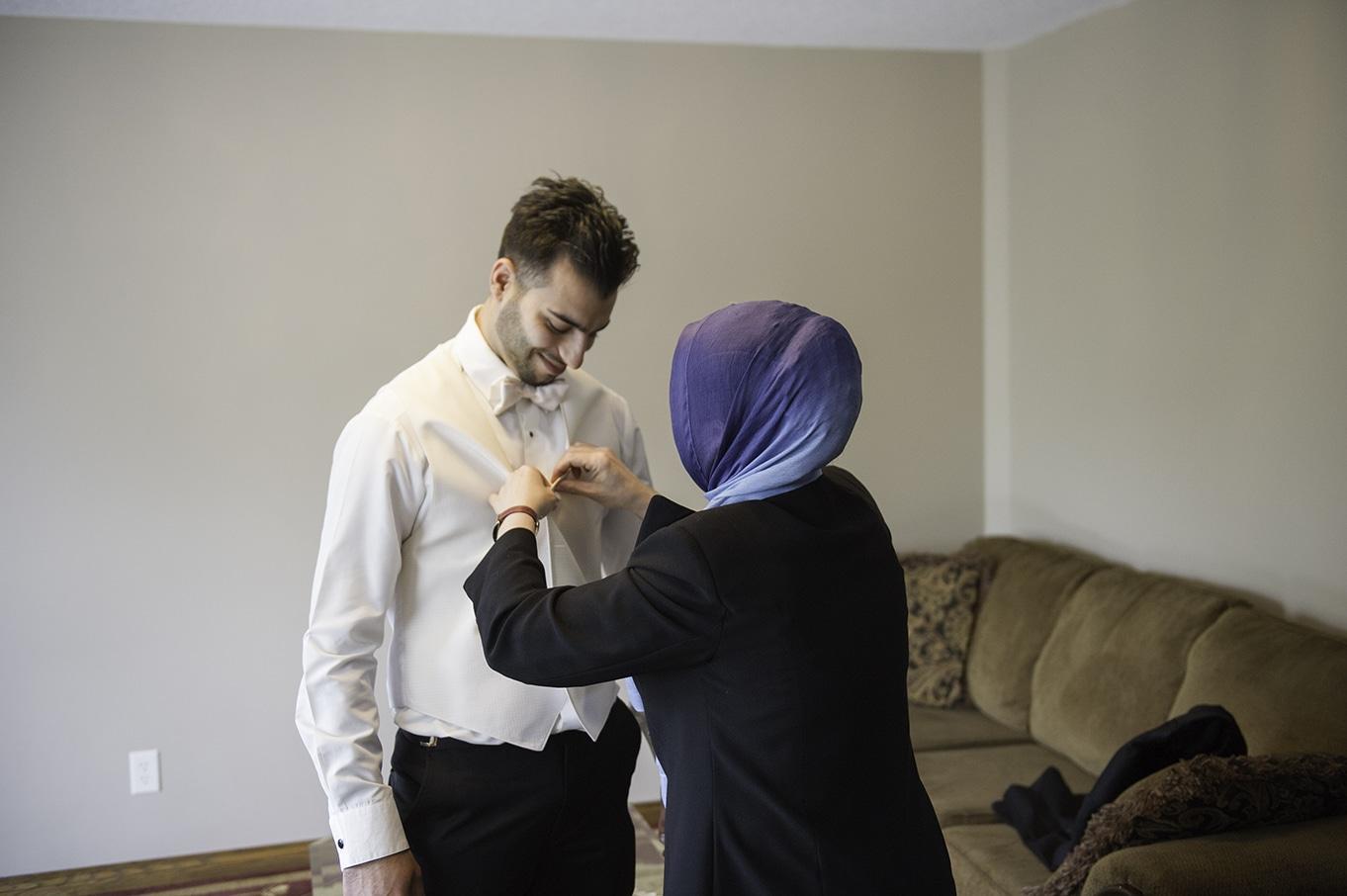 groom getting ready turkish