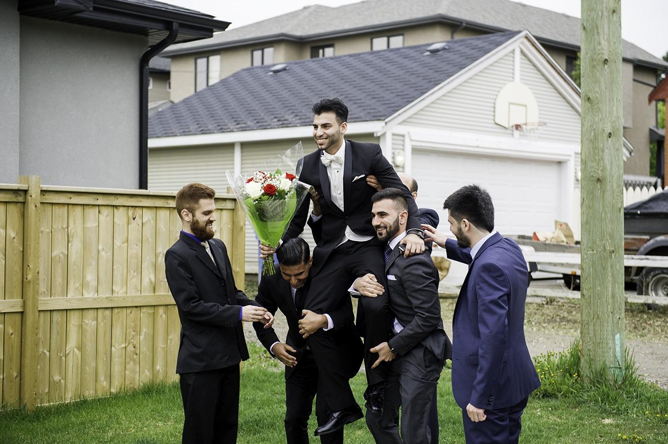 lebanese wedding groom