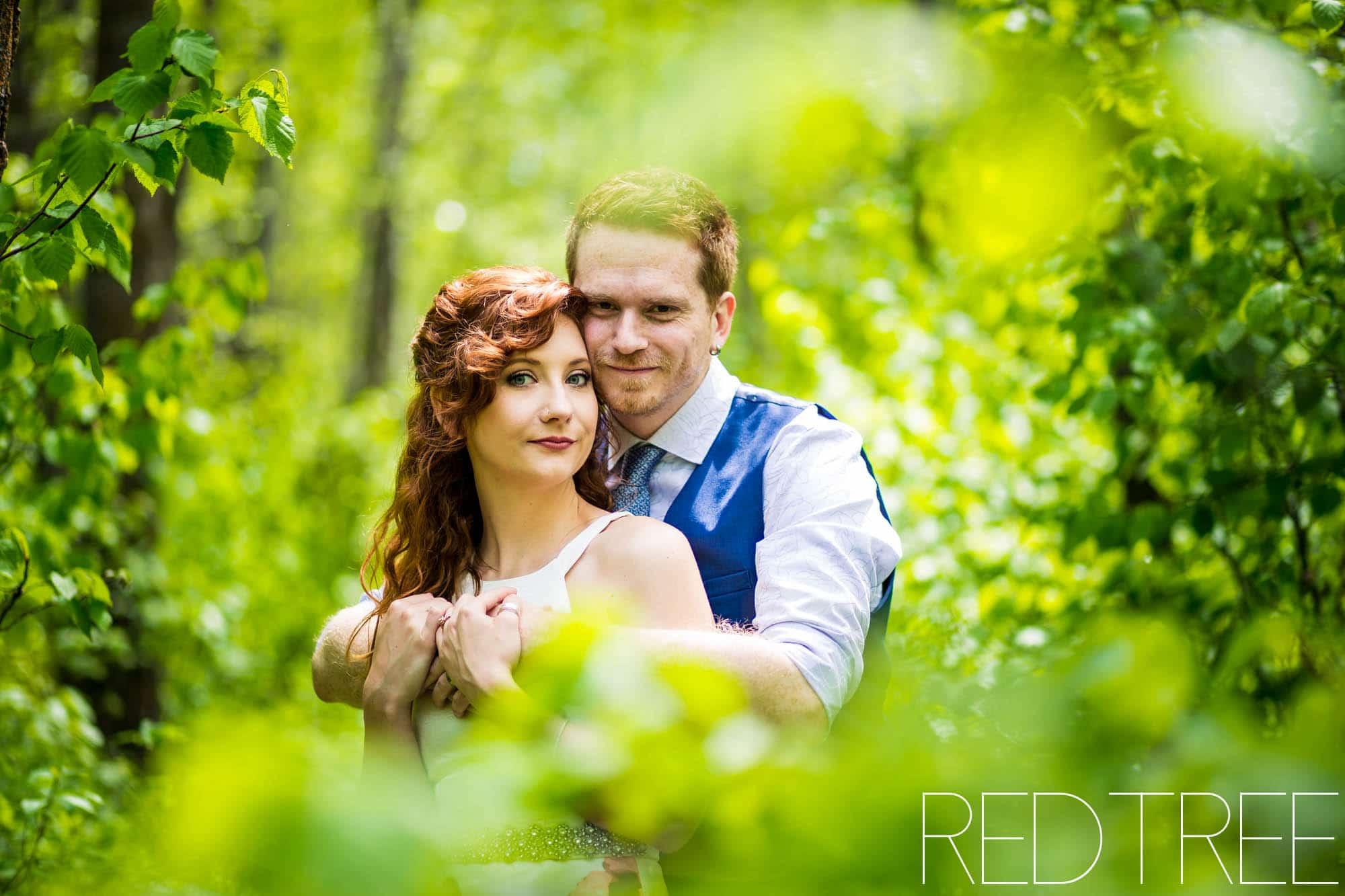 Covid Backyard Wedding: Edmonton Wedding Photographer
