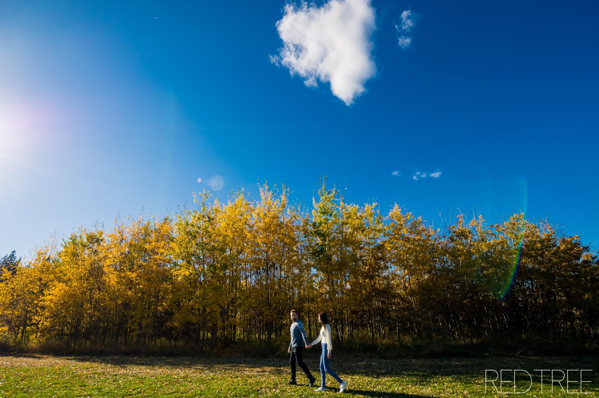 Snow Valley Couple Photography: Edmonton Couple Photographer