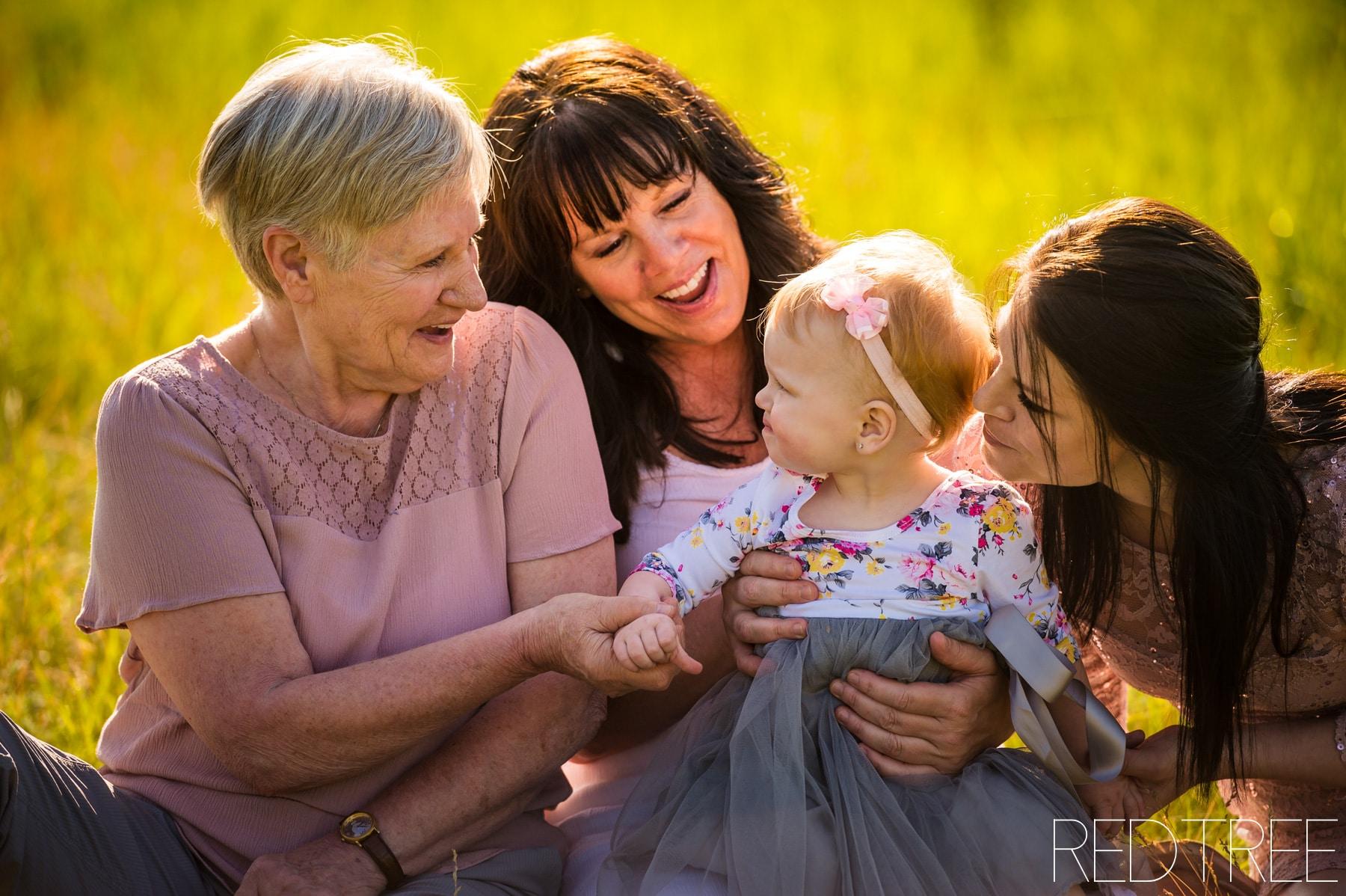 Four Generations Photo Session: Edmonton Family Photographer