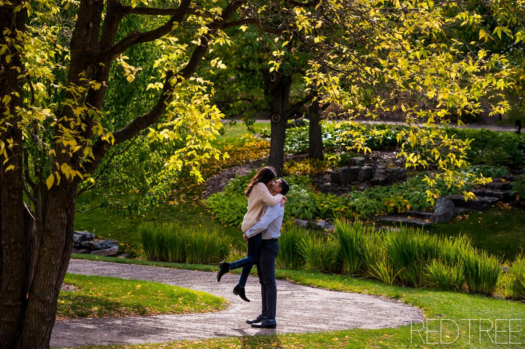 University of Alberta Botanic Gardens: Fall Engagement Photography